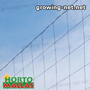 support net used on cropfield for support